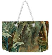 Nude And Arums Weekender Tote Bag