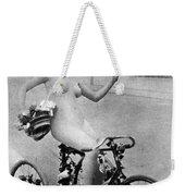 Nude And Bicycle, C1900 Weekender Tote Bag