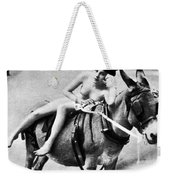 Nude And Donkey, C1900 Weekender Tote Bag