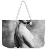 Nude And Flowers, 1903 Weekender Tote Bag