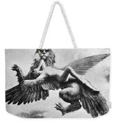 Nude And Griffin, 1890s Weekender Tote Bag
