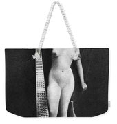 Nude As Ancient Egyptian Weekender Tote Bag