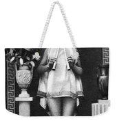 Nude As Ancient Musician Weekender Tote Bag