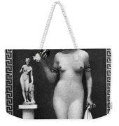 Nude As Aphrodite, C1900 Weekender Tote Bag
