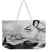 Nude As Mermaid, 1890s Weekender Tote Bag