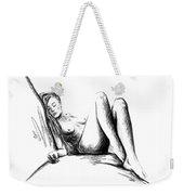 Nude Female Figure Weekender Tote Bag