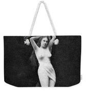 Nude Floating, 1890s Weekender Tote Bag
