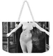 Nude In Doorway, C1865 Weekender Tote Bag