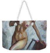 Nude In Shower Weekender Tote Bag
