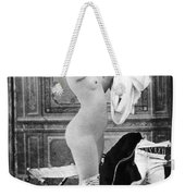 Nude In Stockings, C1880 Weekender Tote Bag