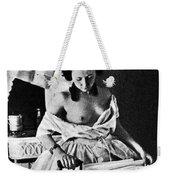 Nude Ironing, C1861 Weekender Tote Bag