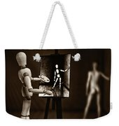 Nude Model  Weekender Tote Bag