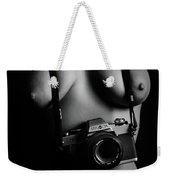 Nude Photographer Weekender Tote Bag