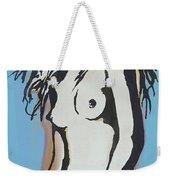 Nude - Pop Art Etching Style  Poster 6 Weekender Tote Bag