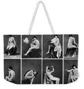 Nude Posing, C1875 Weekender Tote Bag