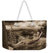 Nude Sunbather Weekender Tote Bag