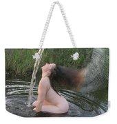 Nude Waterfall Weekender Tote Bag