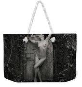 Nude Woman And Doorway Weekender Tote Bag