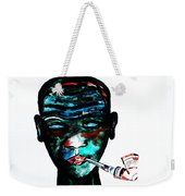 Nuer Lady With Pipe - South Sudan Weekender Tote Bag
