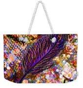 Nujabes' Feather Weekender Tote Bag