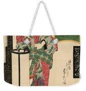Numazu Senju Of The Sakaya 1823 Weekender Tote Bag