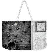 Number 16 Weekender Tote Bag