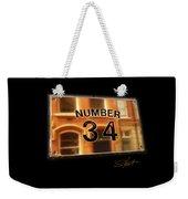 Number 34 Weekender Tote Bag