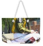 Number Eight Weekender Tote Bag