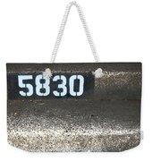 Numbers Weekender Tote Bag