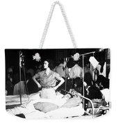 Nurse Adjusts Glucose Injection Weekender Tote Bag by Stocktrek Images