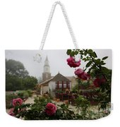 Nursery Garden Roses Weekender Tote Bag
