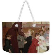 Nursery School Weekender Tote Bag by Hneri Jules Jean Geoffroy