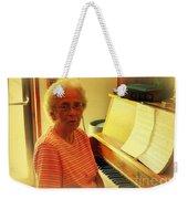 Nursing Home Piano Player Weekender Tote Bag