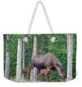 Nursing Moose Weekender Tote Bag