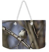 Nuthatch On Perch Weekender Tote Bag