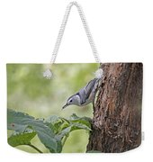 Nuthatch On The Move Weekender Tote Bag