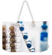 Nutritional Supplement Capsules Weekender Tote Bag