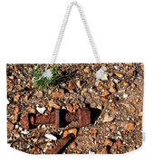 Nuts And Bolts Rusted Weekender Tote Bag