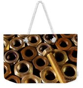 Nuts And Screw Weekender Tote Bag