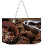 Nuts And Spices Series - Five Of Six Weekender Tote Bag