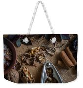 Nuts And Spices Series - Four Of Six Weekender Tote Bag