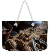 Nuts And Spices Series - One Of Six Weekender Tote Bag