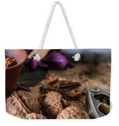 Nuts And Spices Series - Six Of Six Weekender Tote Bag