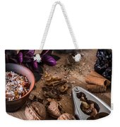 Nuts And Spices Series - Three Of Six Weekender Tote Bag