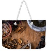 Nuts And Spices Series - Two Of Six Weekender Tote Bag