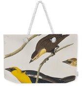 Nuttall's Starling Yellow-headed Troopial Bullock's Oriole Weekender Tote Bag