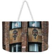 Ny Brick Details Weekender Tote Bag