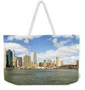 Ny East River Weekender Tote Bag