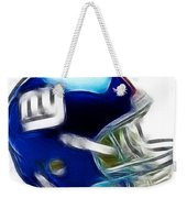 Ny Giants Helmet - Fantasy Art Weekender Tote Bag