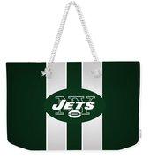 Ny Jets Football Weekender Tote Bag